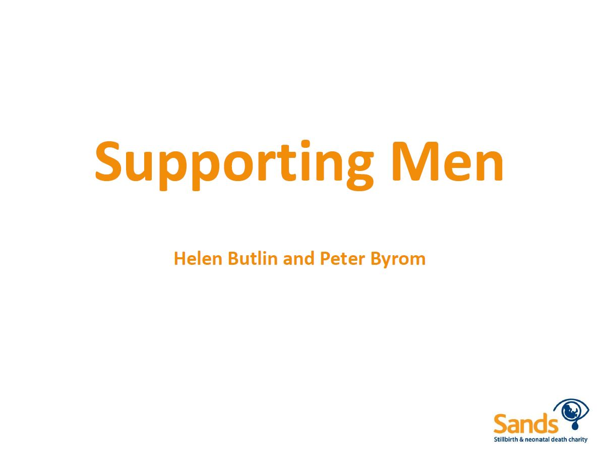 Supporting Men