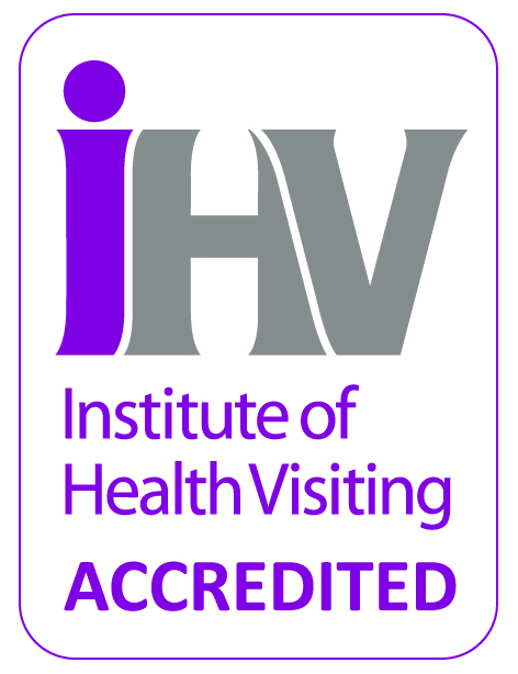 Institute of Health Visiting, accredited, Sands, training