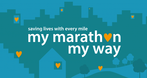 My Marathon my way logo
