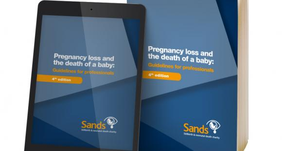 Sands Guidelines for health professionals, midwives, bereavement care