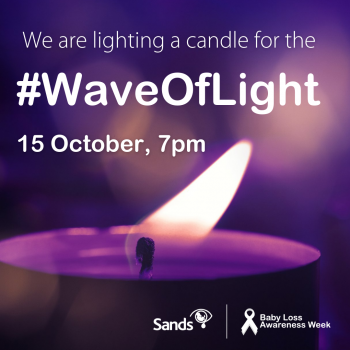 We are lighting a candle for Wave of Light social media image