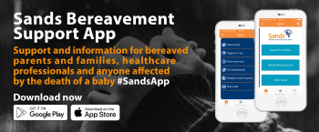 The email announcement banner for theBereavement Support App