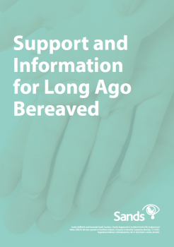 Information and support for long ago bereaved booklet cover