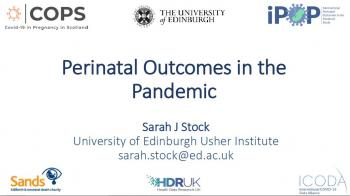 Perinatal Outcomes in the Pandemic