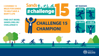 #Challenge15 - You are a Champion badge - Twitter