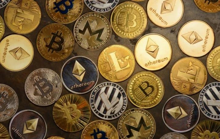 cryptocurrency coins image